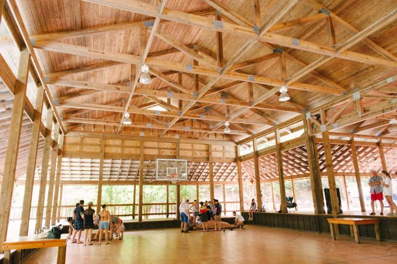 gym dance floor