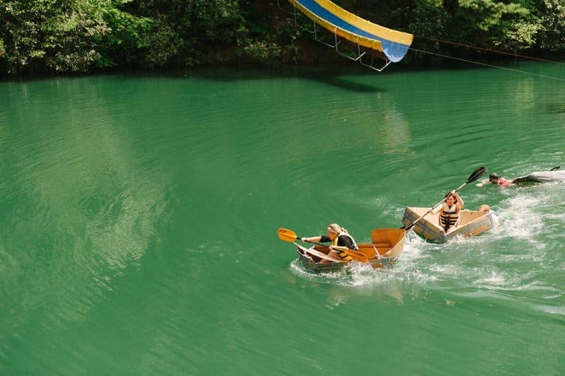 summercamp boat race
