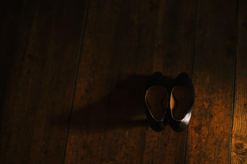 black bride wedding shoes