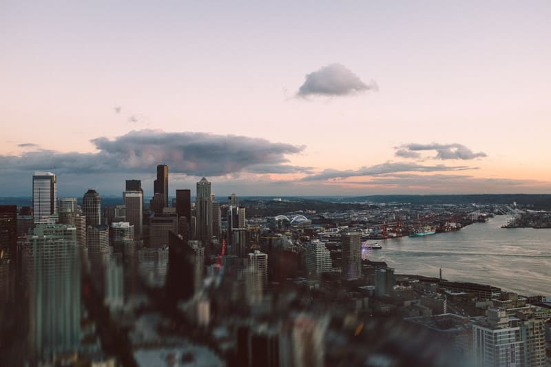 Space Needle view