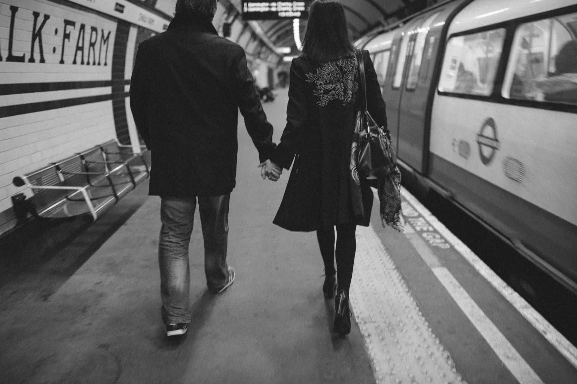 London engagement session