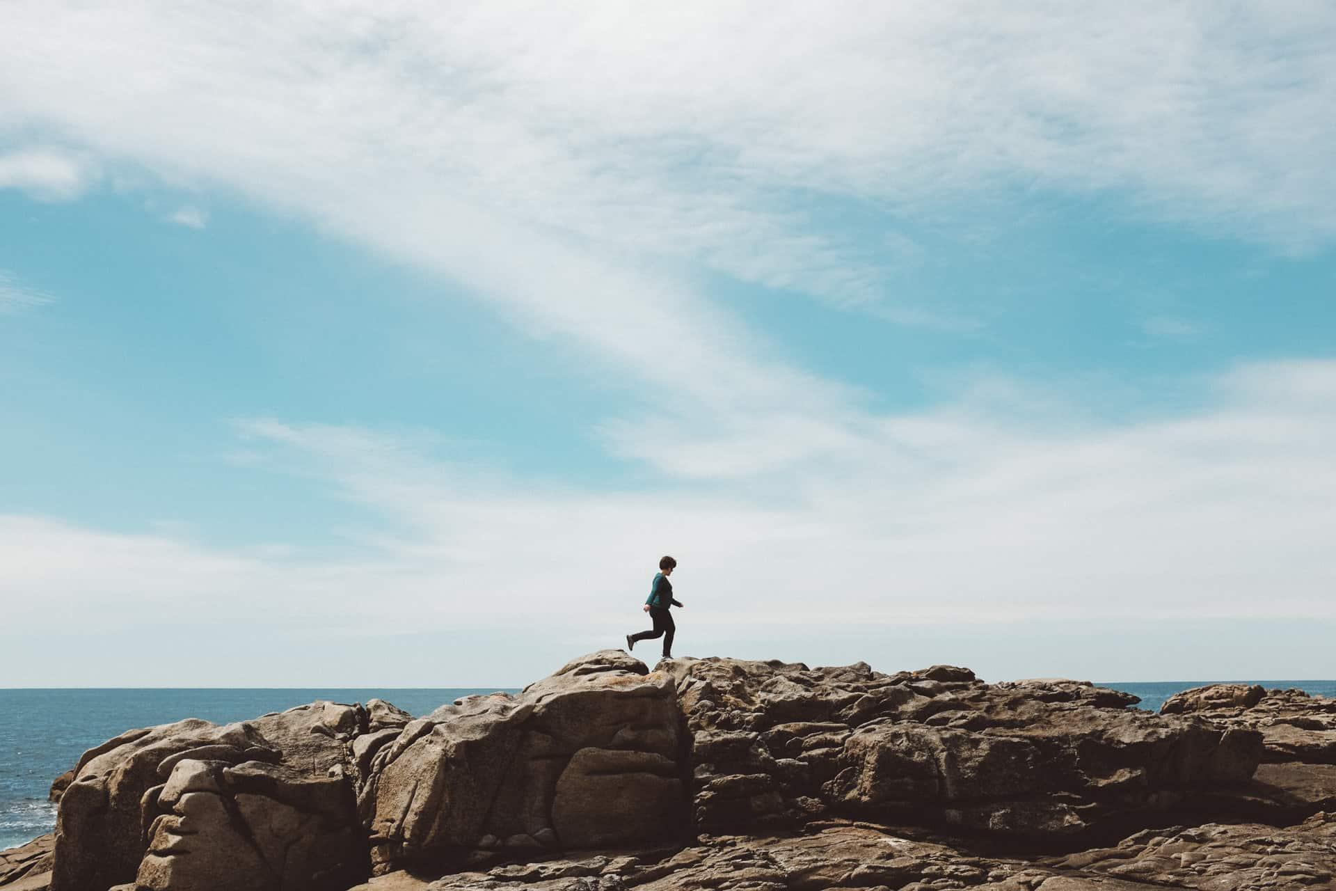 Marina on the rocks