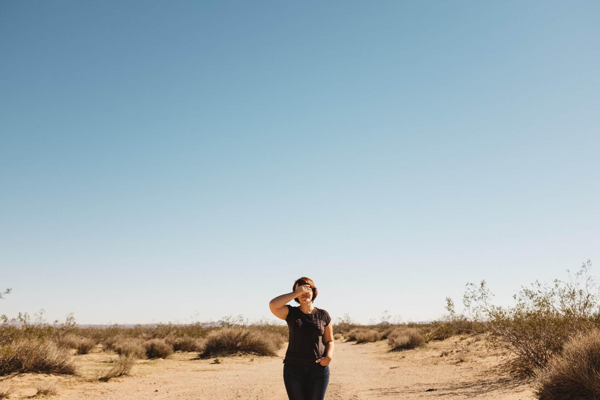 Mojave Desert portrait