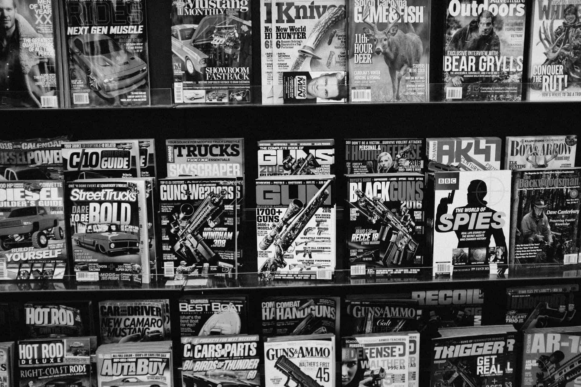 Gun magazine