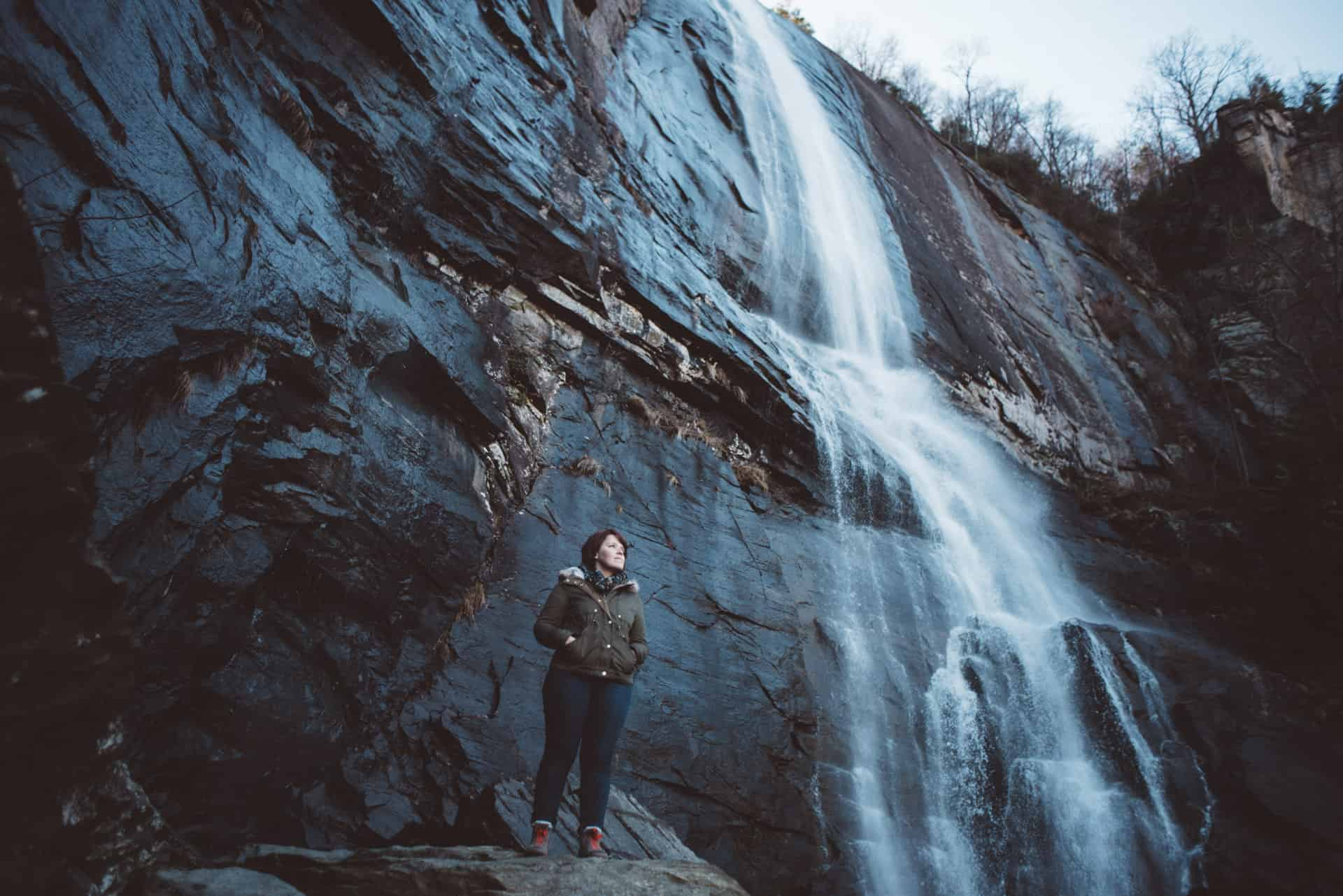 Hickory Nut falls photographer
