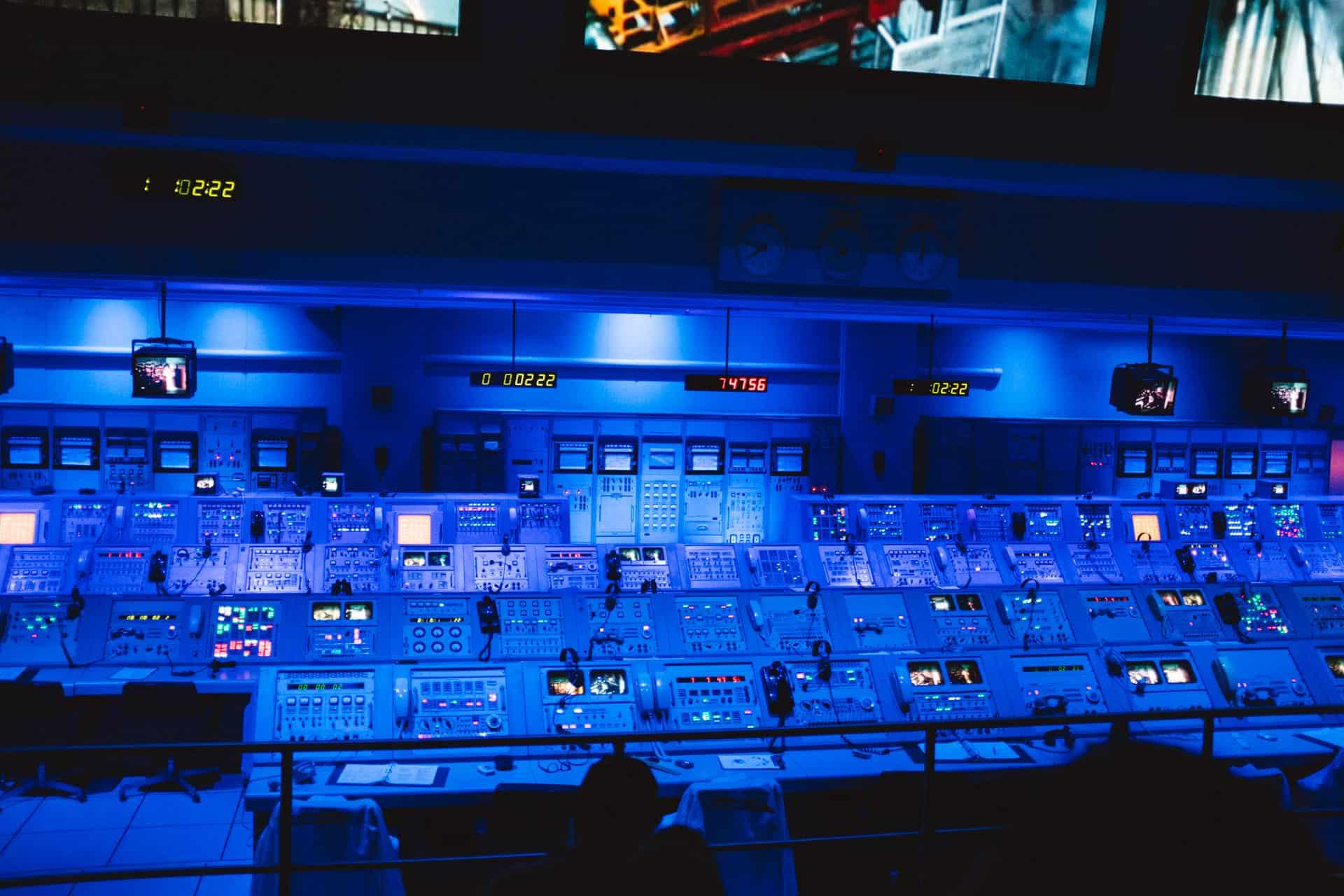 NASA control panel