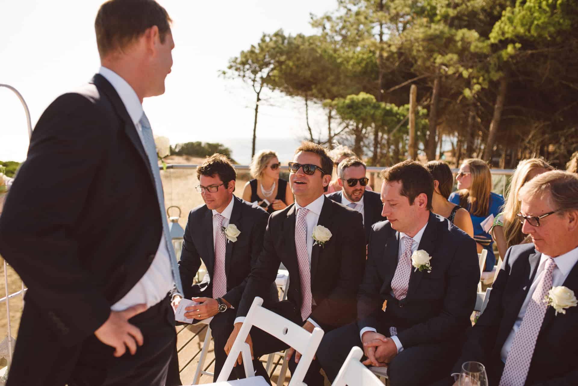 Beach wedding Algarve