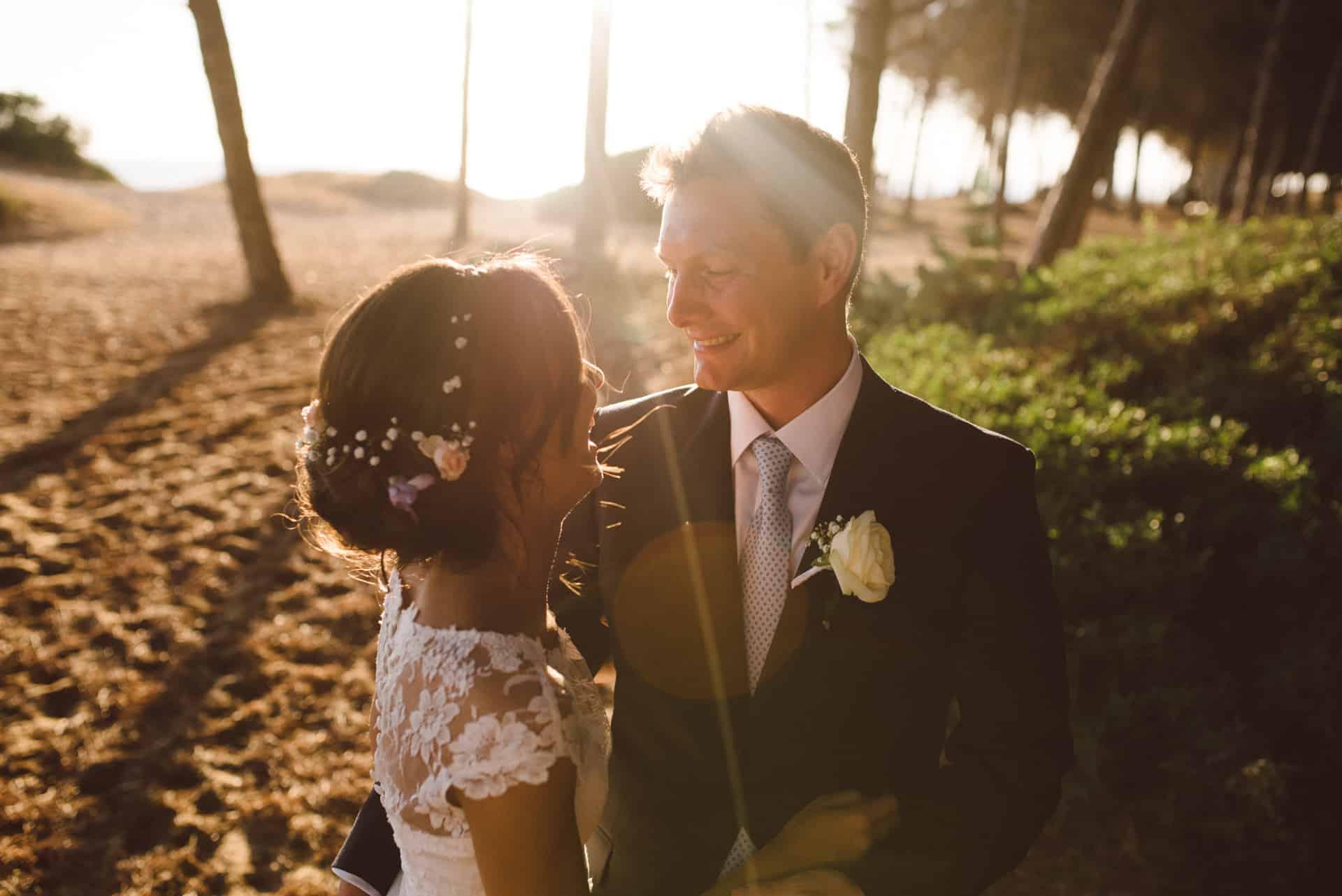 Beach wedding in Algarve