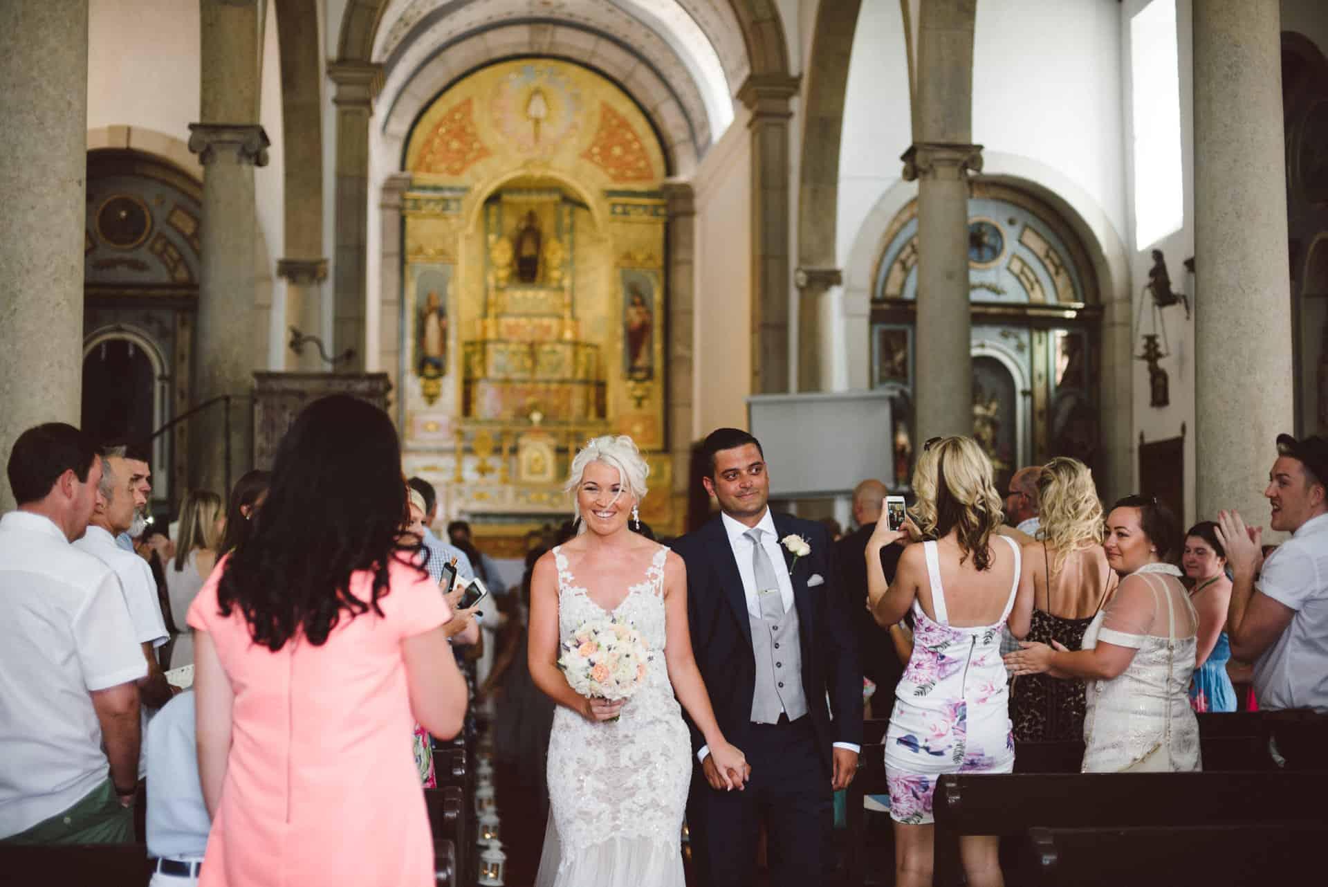 Casamento na igreja de Estoi