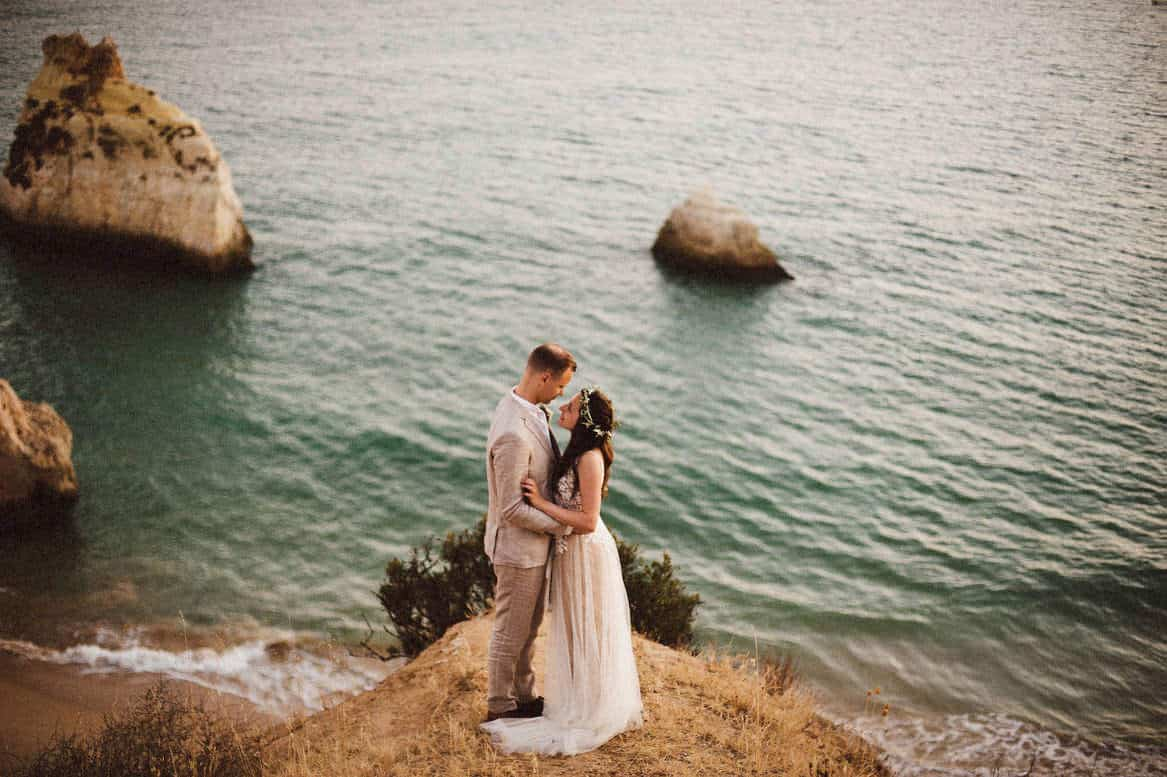 Algarve beach wedding