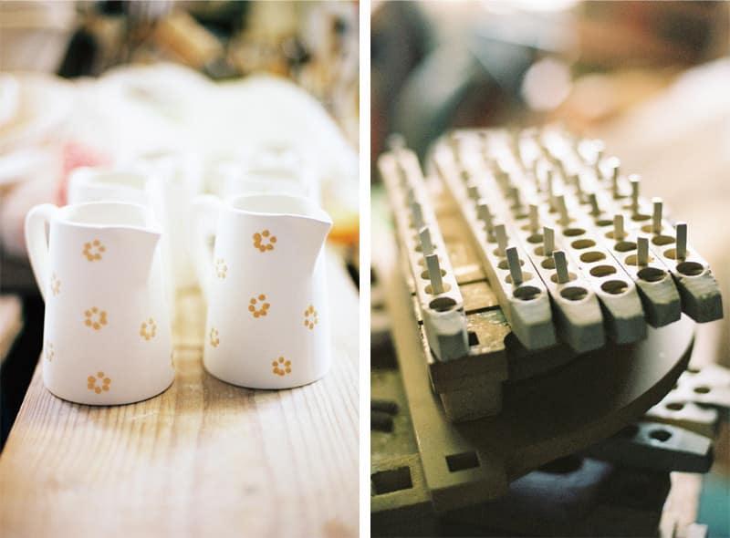 hand painted jugs