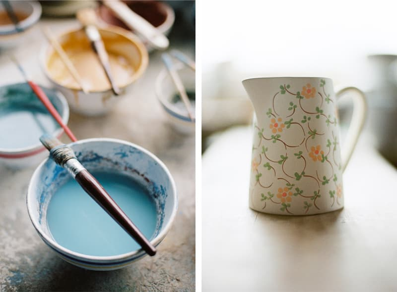 hand painted jug