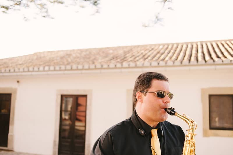 saxofone player