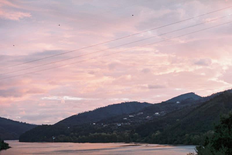sunrise over Rio Douro
