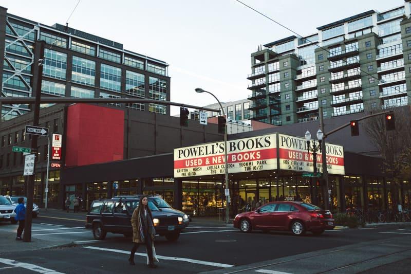 Powell's book store Portland