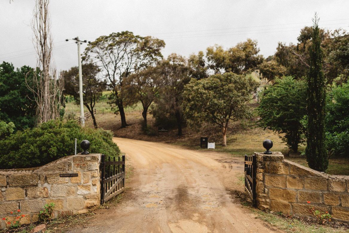 tasmania wedding photographer pooley wines venue entry