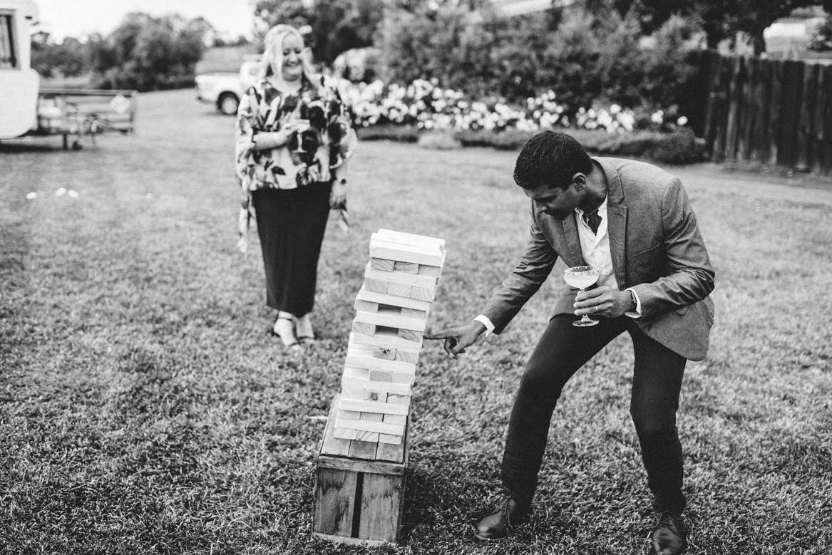 tasmania wedding photographer jenga