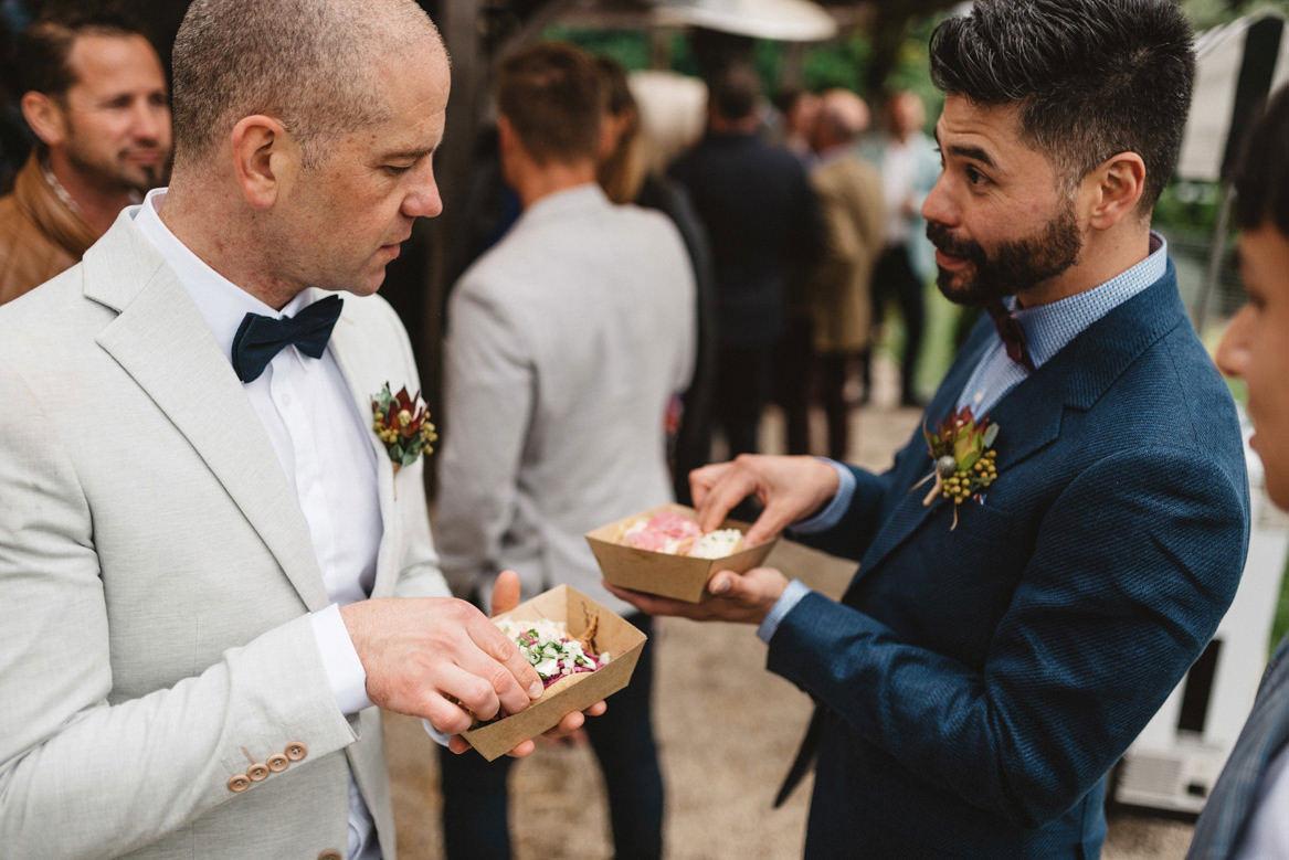 Tasmania wedding photographer tacos