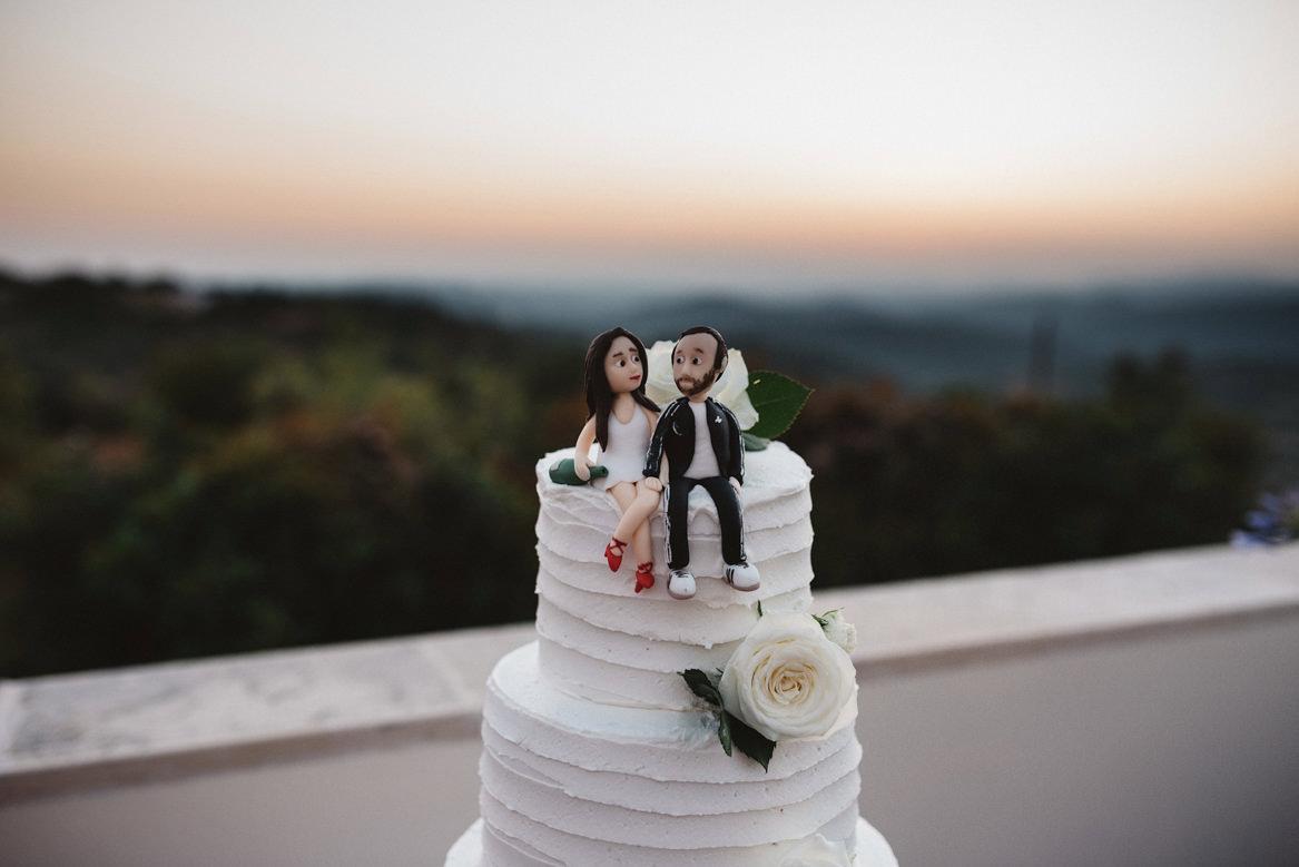 wedding cake at casa rupi