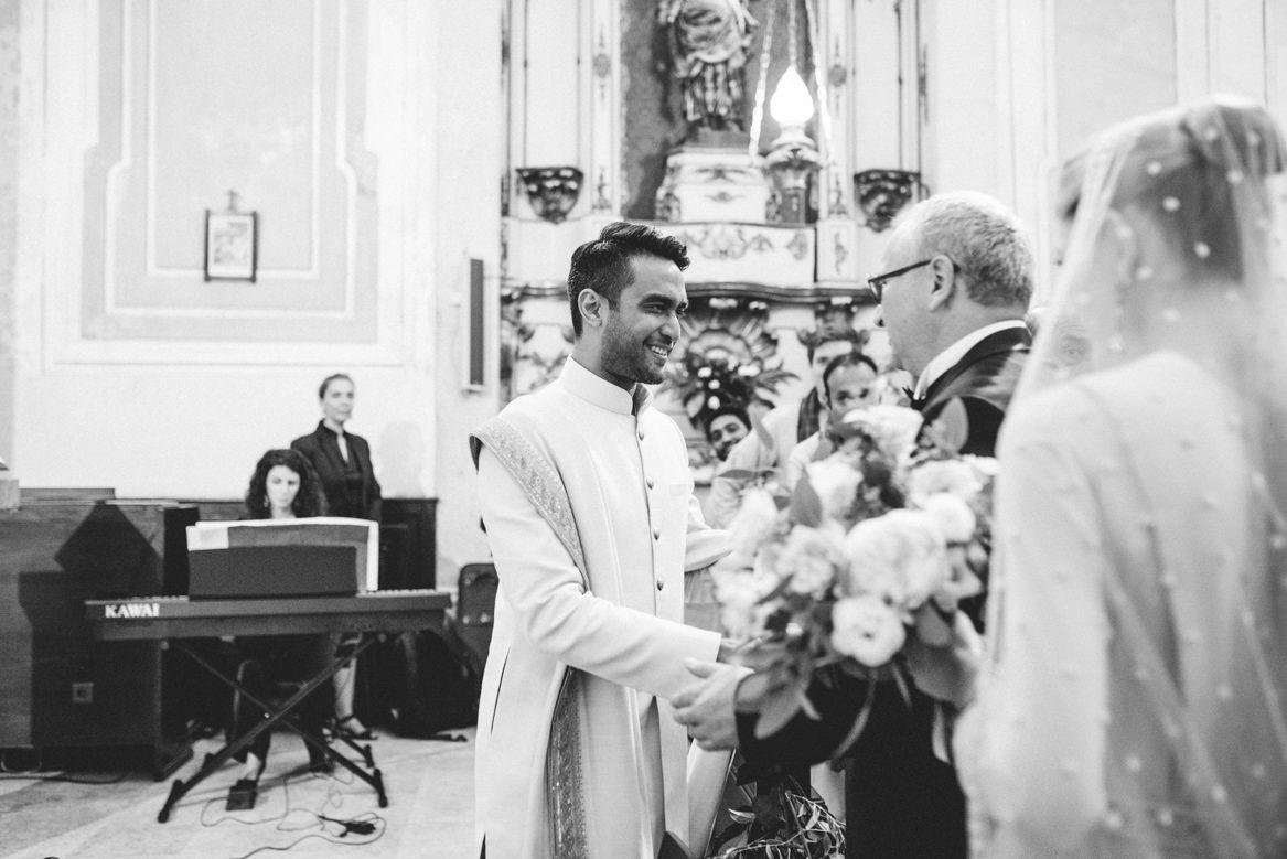 Polish and indian wedding in Lisbon