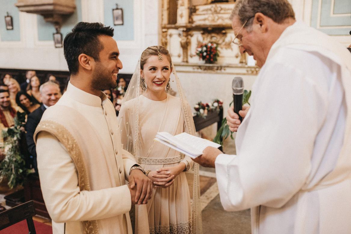 wedding at São Martinho / Saint Martin church Sintra