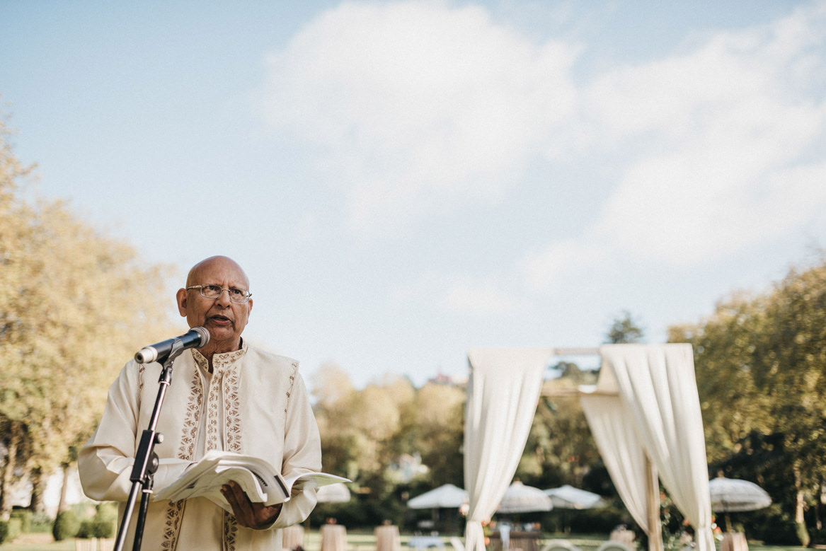 Hindu ceremony at Tivoli Seteais