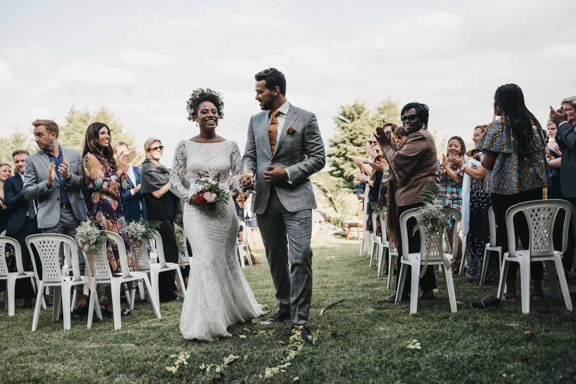 Outdoors ceremony in Portugal